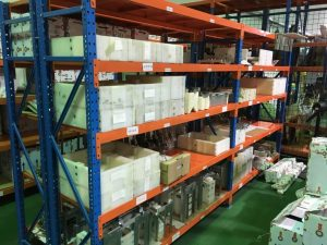 Sale of spare parts