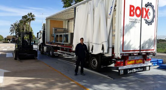 Logistics and spare parts