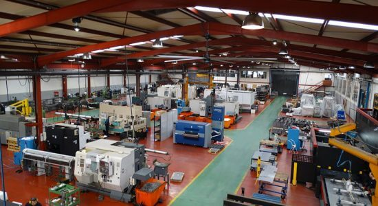Machining departments